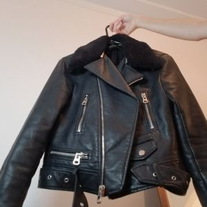 Faux Leather Jacket 🤘